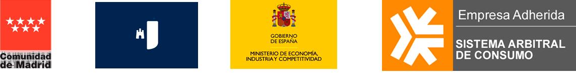 empresa autorizada por la Comunidad de Madrid y la de Castilla- La Mancha