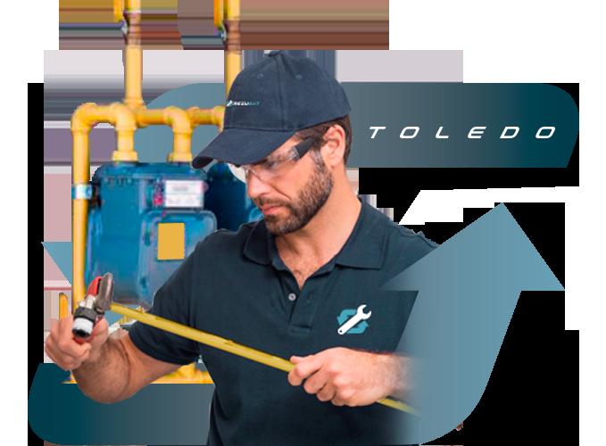 Empresa instaladora de Gas Natural en Toledo