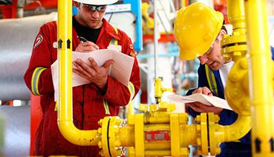 Puesta a punto y mantenimiento de reguladores de gas natural en San Blas