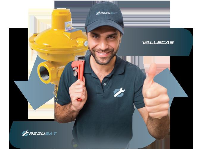 Sustitución de regulador de Gas Natural en Vallecas