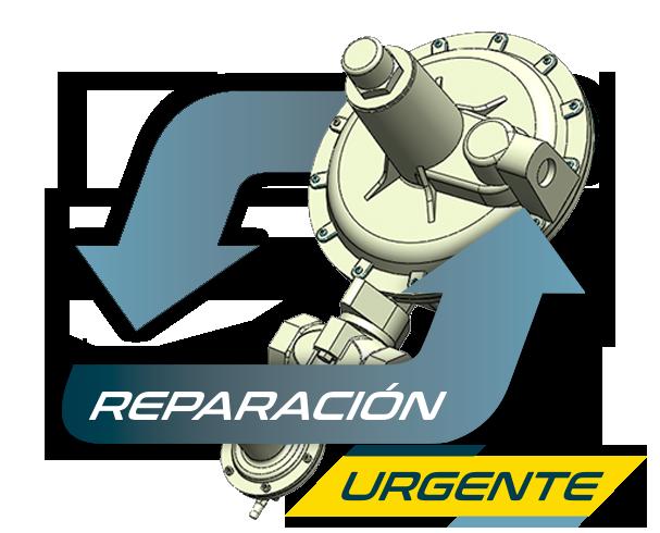reparación de reguladores de gas natural en Pinto