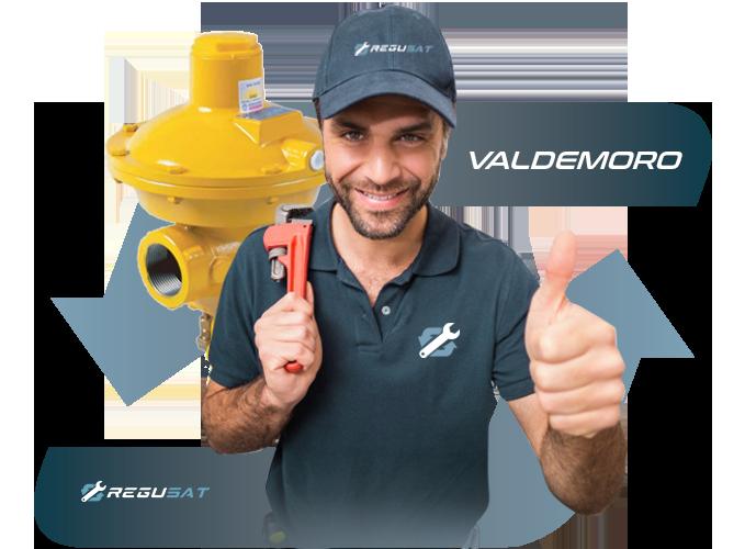 Sustitución de regulador de Gas Natural en Valdemoro